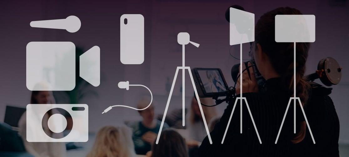 Les vår bloggartikkel om utstyr for videoproduksjon