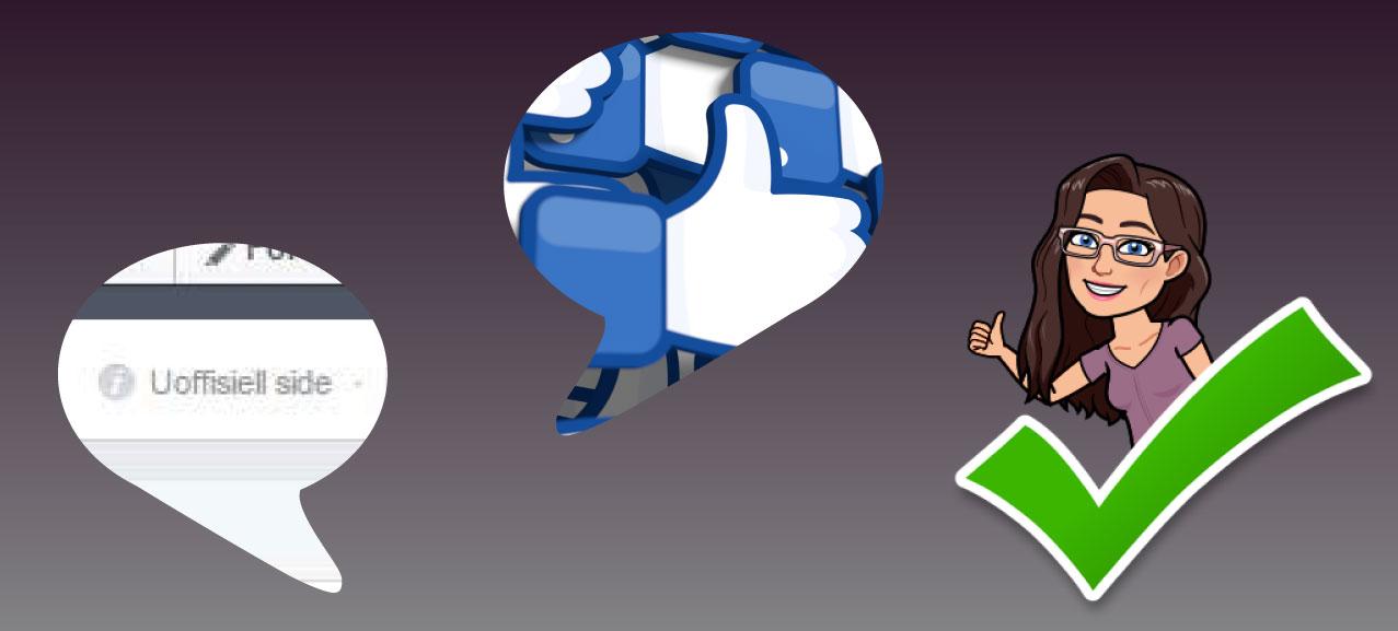 Hvordan gjøre krav på en uoffisiell side på Facebook