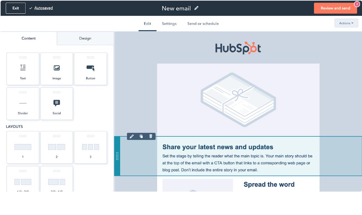 Nyheter HubSpot - Gratis CRM