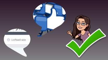 BloggUofisiellSideFace Hvordan gjøre krav på en uoffisiell side på Facebook