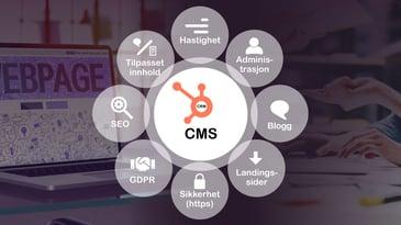 Hvorfor velge HubSpot som Content Management System (CMS)?