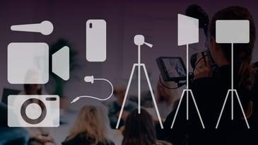 Les vår artikkel om utstyr for videoproduksjon Utstyr for videoproduksjon