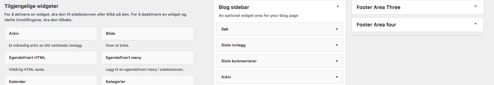Wordpress Widgeter